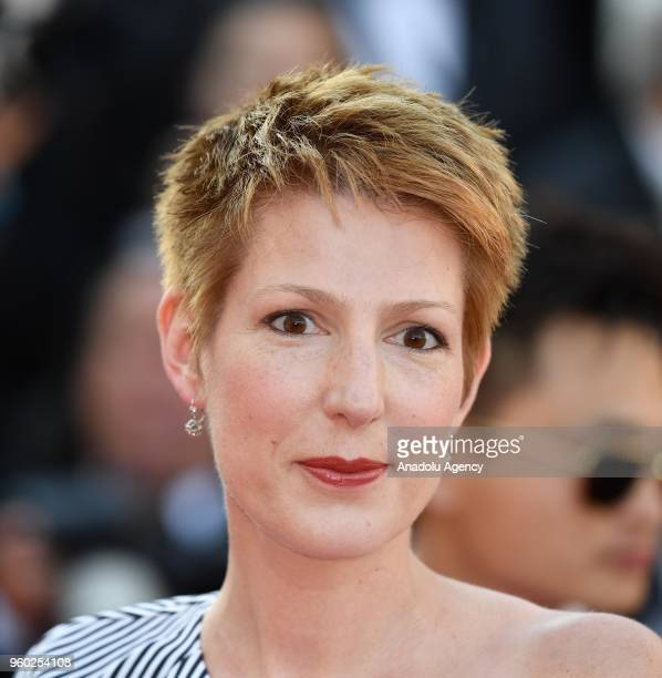 French journalist Natacha Polony arrives for the screening of the film 'The Man who Killed Don Quixote' and Closing Awards Ceremony at the 71st...
