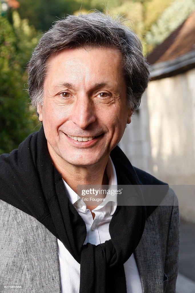 French journalist Patrick de Carolis at 'la foret des livres ' in chanceaux près loche