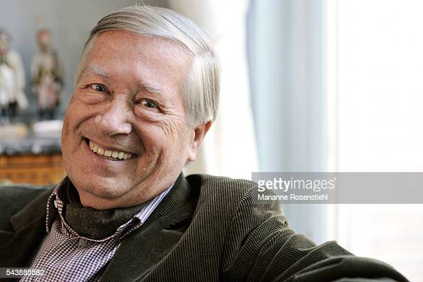 French journalist political commentator and writer Alain Duhamel member of the Academy of Moral and Political Sciences