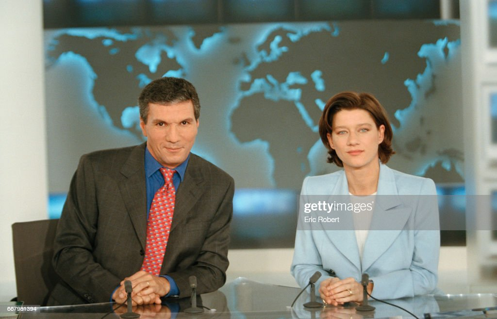 French Journalist Rachid Arhab Is A Presenter On France 2 S Lunchtime News Photo Getty Images
