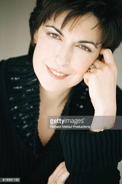 French Journalist Ruth Elkrief