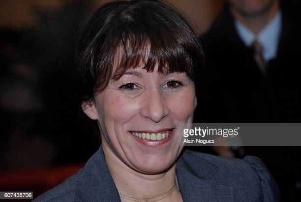 """French Junior Minister for Housing and Urban Affairs Fadela Amara attends the meeting """"Journee Espoir Banlieue"""" in Vaulx-en-Velin, southeastern..."""