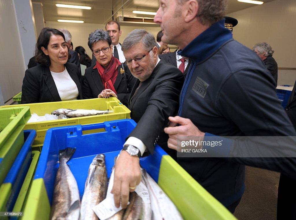 FRANCE-ECONOMY-FISHING : News Photo