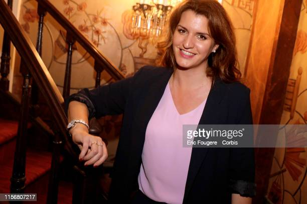 French Junior Minister in charge of Equality between men and women Marlene Schiappa poses during a portrait session in Paris, France on .
