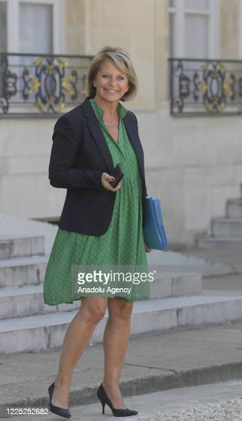 French Junior Minister of Autonomy Brigitte Bourguignon attends the first Council of Ministers following the ministerial reshuffle, in Paris, France...