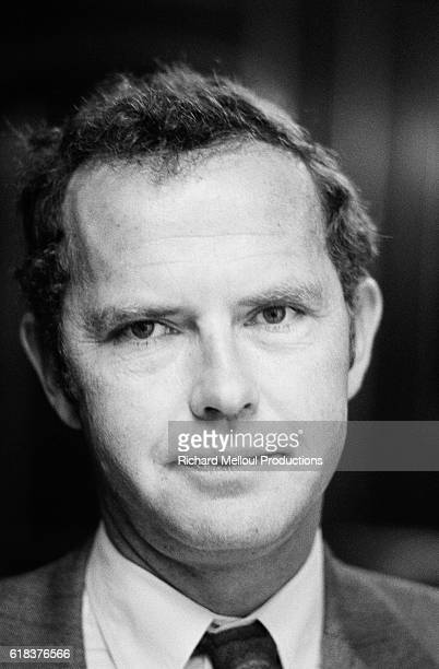 French Junior Prime Minister Antoine Rufenacht at the Hotel Matignon. He also served as the Mayor of Le Havre and as Jacques Chirac's campaign...
