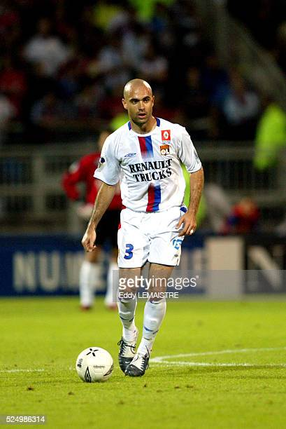 French L1 Championship Soccer season 20042005 Lyon vs Bastia Cris