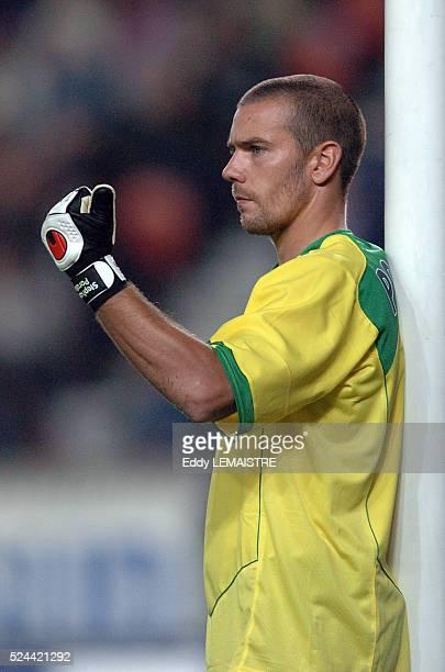 French L1 Soccer Championship season 20042005 Paris Saint Germain vs AC Ajaccio Stephane Porato