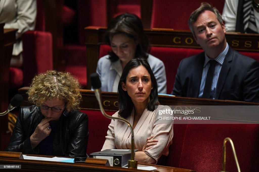 FRANCE-POLITICS-PARLIAMENT-GOVERNMENT : ニュース写真