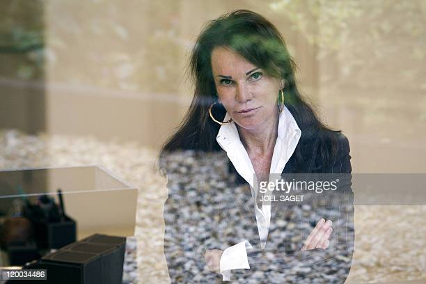 French lawyer Claude DumontBeghi specialized in the tracking of trusts in tax havens poses on July 27 2011 in her office in Paris Claude Dumont Beghi...