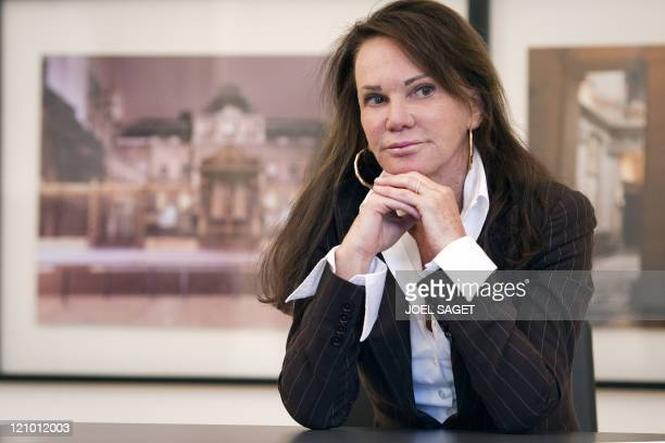 French lawyer Claude DumontBeghi specialized in the tracking of trusts in tax havens poses on July 27 2011 in her office in Paris Claude DumontBeghi...
