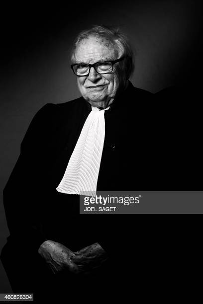 French lawyer Henri Leclerc poses in his office in Paris on December 16 2014 in Paris AFP PHOTO JOEL SAGET / AFP PHOTO / Joël SAGET