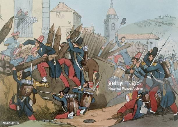 French Legion Storm Carlist Entrenchment