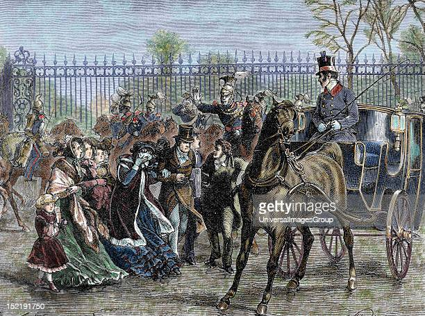 French Liberal Revolution The mob assaulted on the Tuileries on February 24 1848 due to the refusal of the monarch to extend the right to vote For...