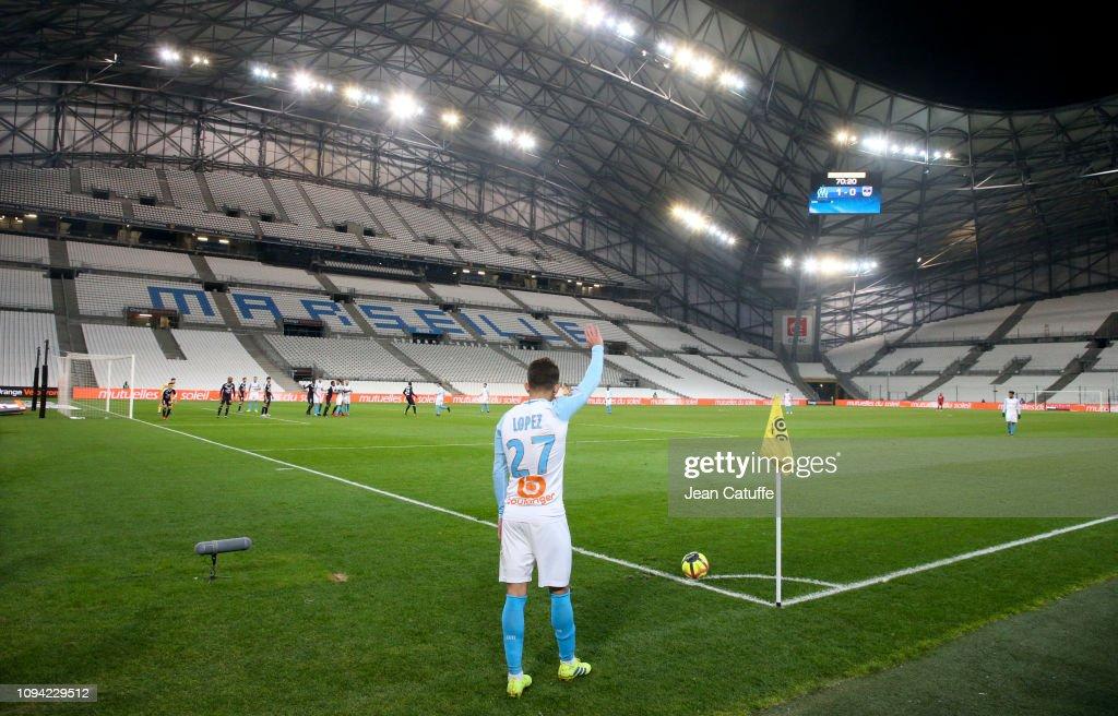 Olympique de Marseille v Girondins Bordeaux - Ligue 1 : Photo d'actualité