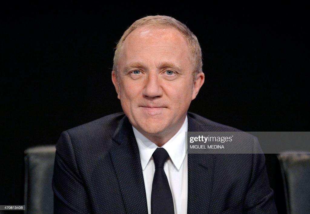 FRANCE-LUXURY-BUSINESS-COMPANY-KERING : News Photo