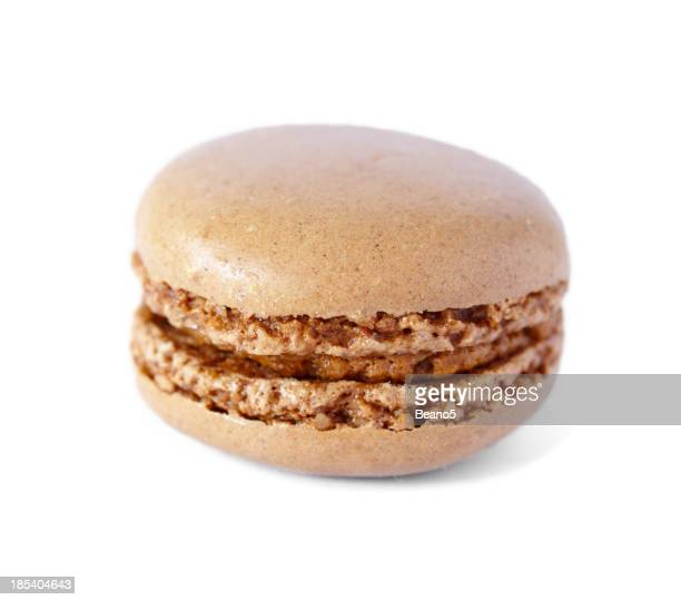 French Macaron with coffee flavor