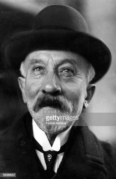 French magician actor director designer and theatre manager Georges Melies