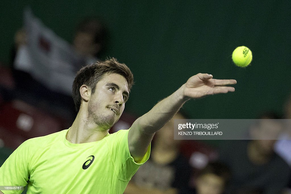 TENNIS-ATP-FRA-INDOOR : News Photo