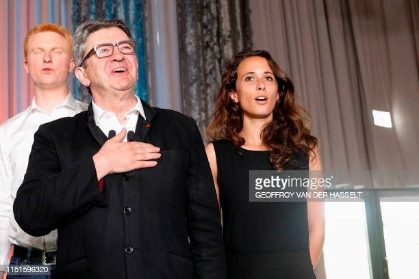 French member of Parliament and president of the leftist La France Insoumise party JeanLuc Melenchon new coordinator of the leftist La France...