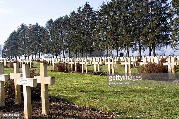 French military cemetery of Malmaison in France. This cemetery is located on the chemin des dames. The chemin des dames is situated between Soissons...