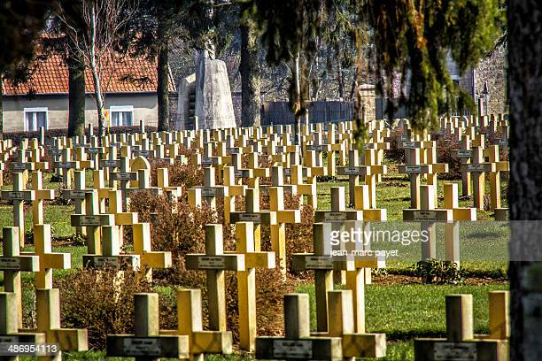 French military cimetery of Malmaison. It is located on the chemin des dames between Soissons Laon and Reims. In this place took in april 1907 the...