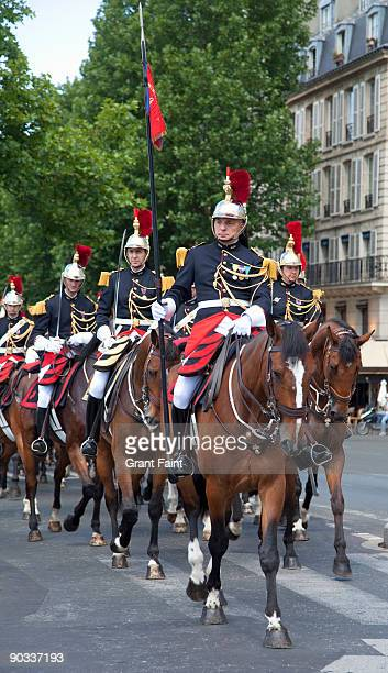 french military horseguards