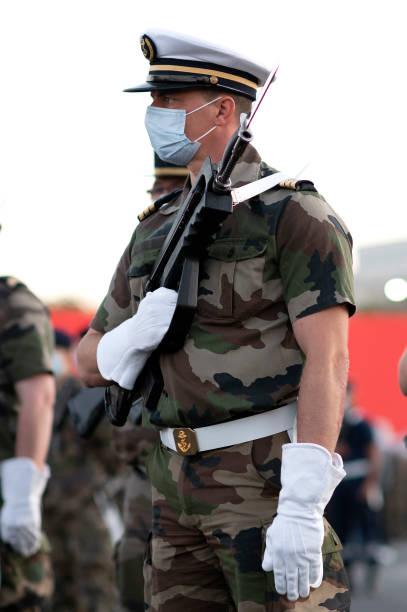 FRA: France Prepares To Celebrate Bastille Day In Paris