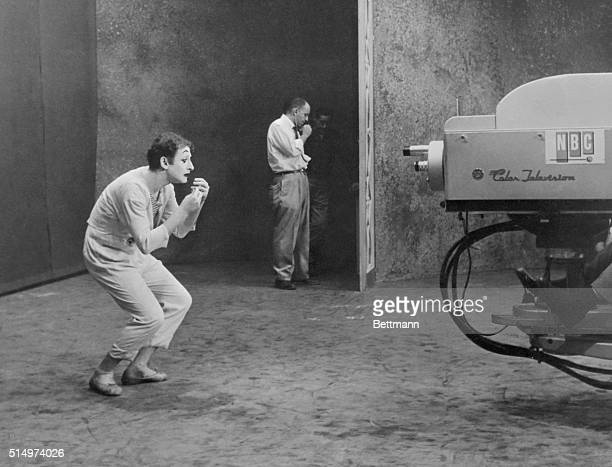 French mime Marcel Marceau appears on American television.