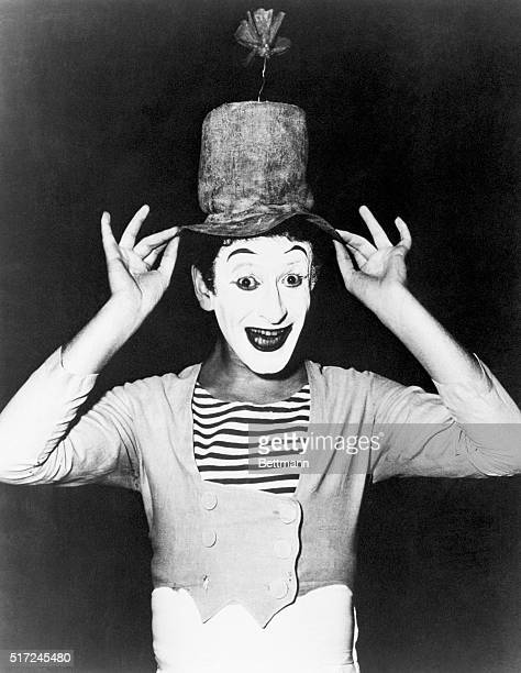 French Mime Marcel Marceau