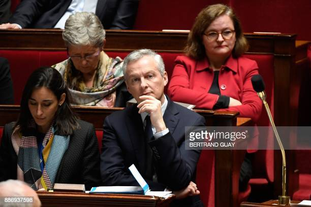 French Minister attached to the Minister of Ecological and Inclusive Transition Brune Poirson French Junior Minister for Defence Genevieve...