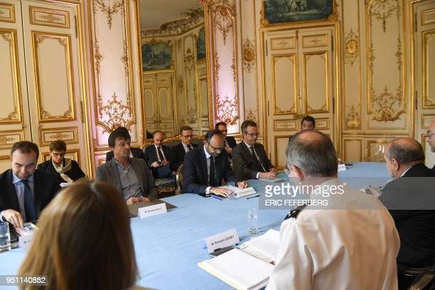 French Minister attached to the Minister of Ecological and Inclusive Transition Sebastien Lecornu French Minister for the Ecological and Inclusive...
