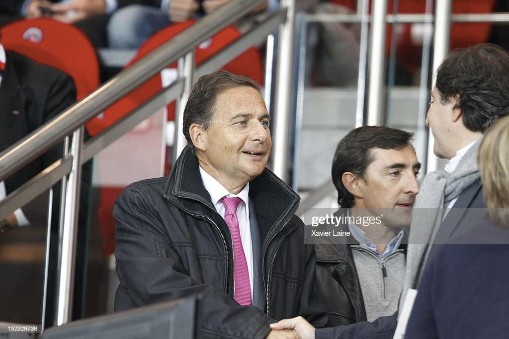 Personnalities Attend Paris Saint-Germain FC v FC Dynamo Kiev - UEFA Champions League