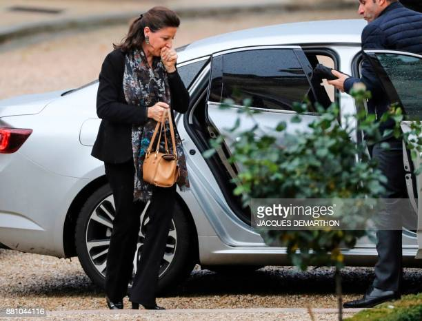 French Minister for Solidarity and Health Agnes Buzyn arrives to attend a session of questions to the government at the National Assembly in Paris on...