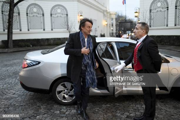 French Minister for the Ecological and Inclusive Transition Nicolas Hulot arrives to attend a government's New Year breakfast meeting at the Interior...
