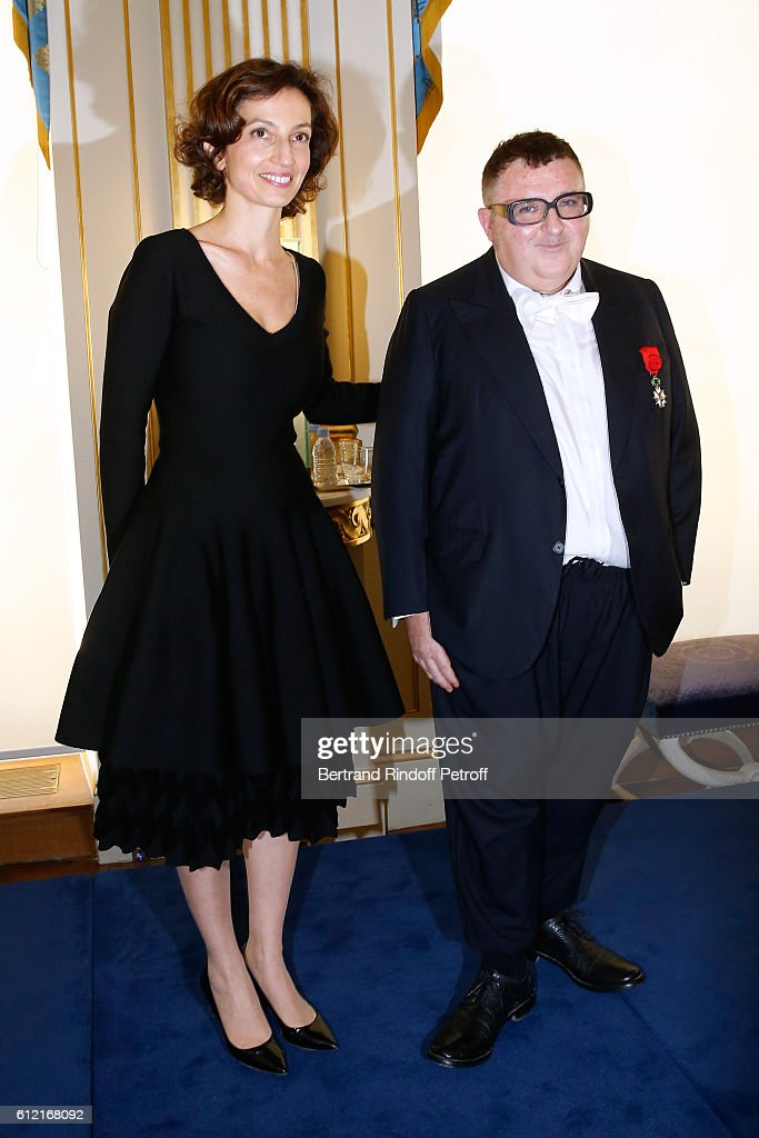 Alber Elbaz Decorated at Ministere de la Culture - Paris Fashion Week Womenswear Spring/Summer 2017