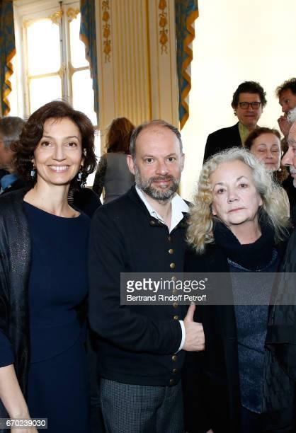 French Minister of Culture and Communication Audrey Azoulay Nominated for 'Moliere du Meilleur Comedien dans un spectacle de Theatre public' for 'Les...