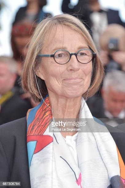 French Minister of Culture Francoise Nyssen attends the 70th Anniversary of the 70th annual Cannes Film Festival at Palais des Festivals on May 23...