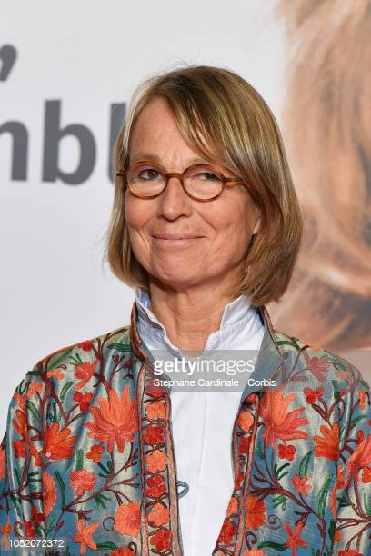 French Minister of Culture Francoise Nyssen attends the opening ceremony during the 10th Film Festival Lumiere on October 13 2018 in Lyon France