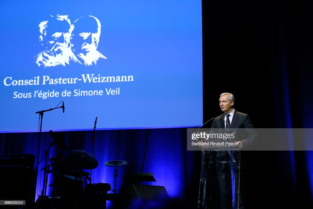 Gala Evening Of The Pasteur-Weizmann Council In Tribute To Simone Veil In Paris