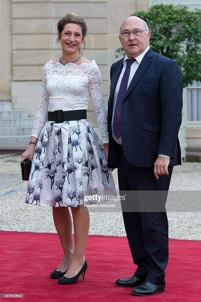 State Dinner in Honor of  Geun-hye Park, South Korea President At Elysee Palace in Paris
