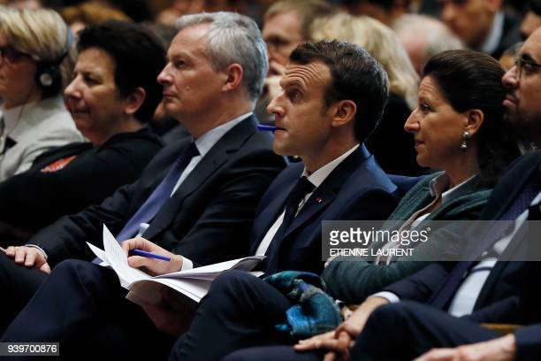 French Minister of Higher Education Research and Innovation Frédérique Vidal French Economy Minister Bruno Le Maire French President Emmanuel Macron...
