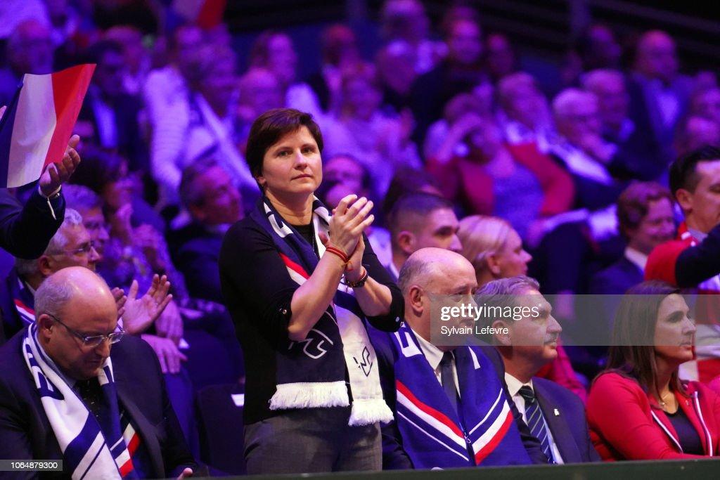 France v Croatia - Davis Cup Final: Day Two : News Photo