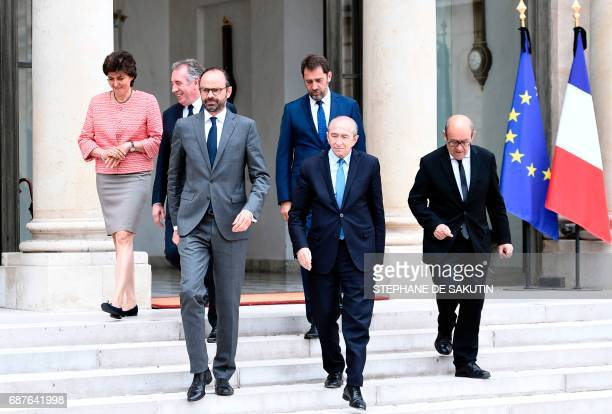 French Minister of the Armed Forces Sylvie Goulard French Minister of Justice Francois Bayrou French Prime Minister Edouard Philippe French Minister...