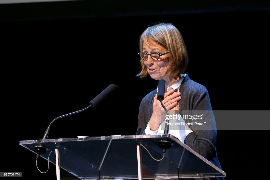 Tribute To Actress Jeanne Moreau At Theatre National de L'Odeon In Paris : News Photo