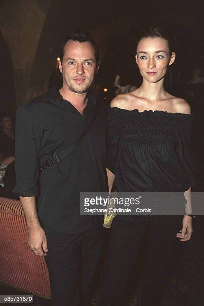 French model Audrey Marney with her husband Alexandre de Betak