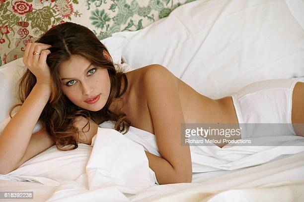 French Model Laetitia Casta