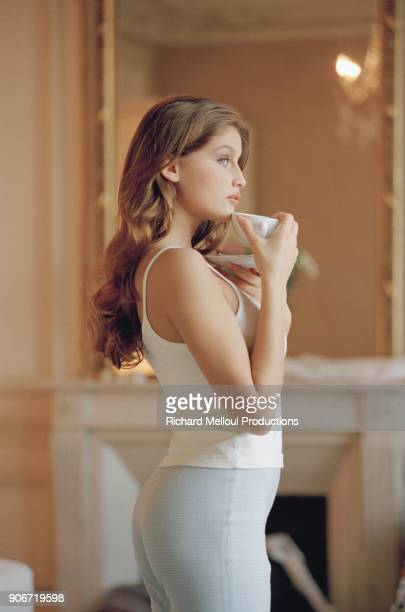 French model Laetitia Casta
