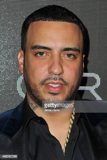 French Montana arrives at Sean 'Diddy' Combs Exclusive Birthday Celebration on November 21 2015 in Beverly Hills California