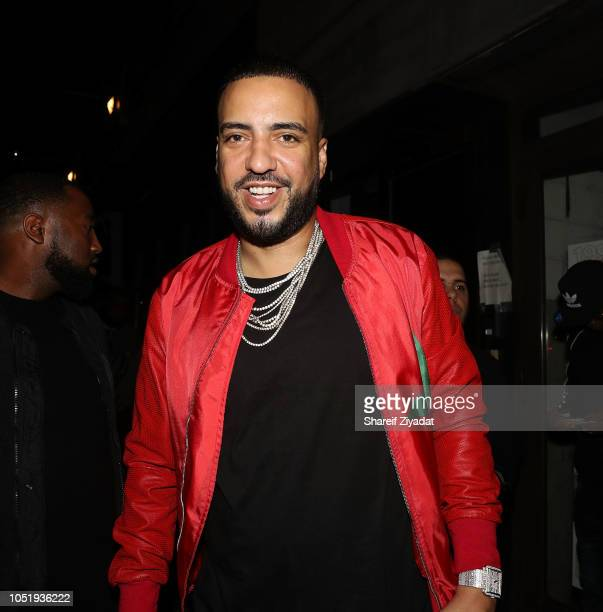 French Montana attends Belly's Immigrant Album Release Dinner at Vandal on October 11 2018 in New York City